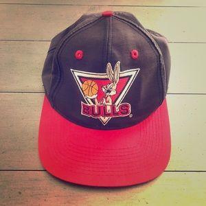 Vintage Bugs Bunny Chicago Bulls Snapback Hat